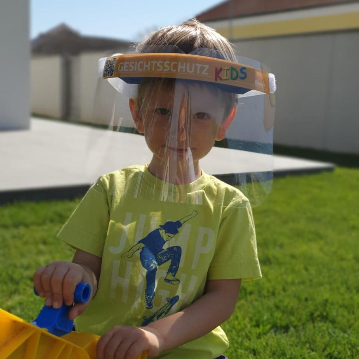 Gesichtsschutz Kids