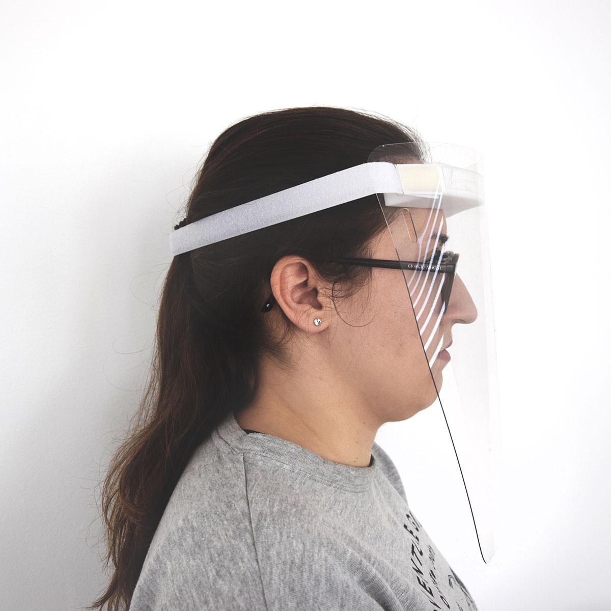 Gesichtsschutz Seitlich